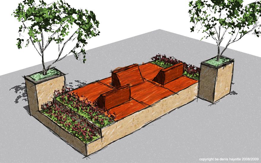 mobilier urbain actualit du quartier belleville saint maur. Black Bedroom Furniture Sets. Home Design Ideas