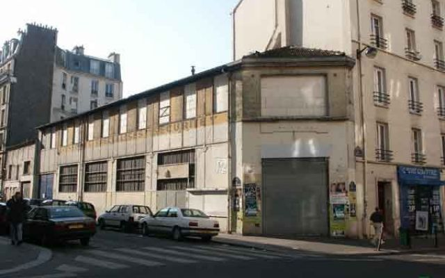l'immeuble du 2-3 rue Crespin du Gast